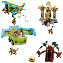305pcs The Mystery Machine Bus Bela Scooby Doo Series Building Blocks Compatible With 75902 Bricks Toys For Children