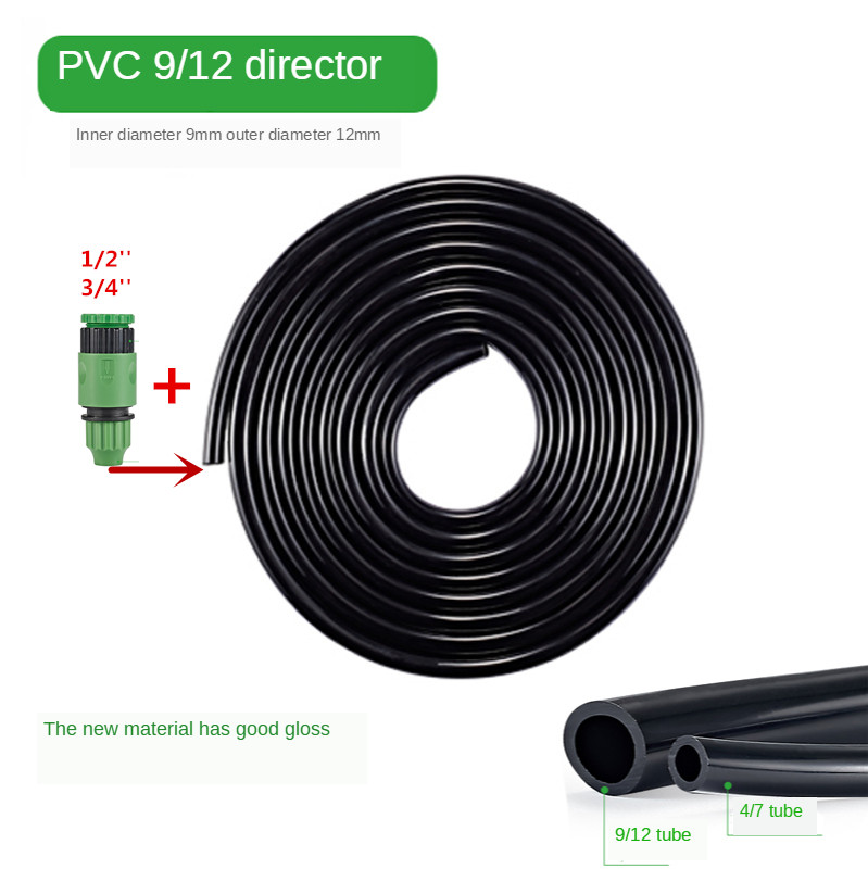 Irrigation 9/12mm Hose Drip Garden hose Watering and Irrigatio 10m 20m 30m
