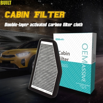 Car Pollen Cabin Filter Activated Carbon 8L8Z-19N619-B For Ford Escape Mercury Mariner Hybrid 2008 2009 For Mazda Tribute 2010 image