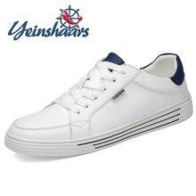 Nuevos Zapatos para Hombre, Zapatos blancos Vintage, Zapatos De cuero genuino a la moda transpirables para exteriores, Zapatos para caminar De alta calidad, Zapatos De Hombre
