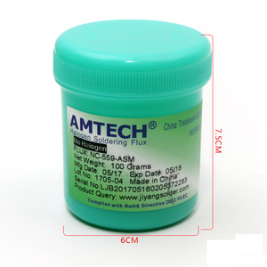 Image 3 - Solder Paste AMTECH Nc 559 asm 100g Lead Free Soldering Flux Welding Paste Flux 559  Nc 559 Soldering Iron Soldering Paste Flux