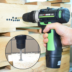Image 5 - Screwdriver 12V 16.8V Cordless Electric Screwdriver Rechargeable Lithium Battery Dual Speed Cordless Drill Power Tools