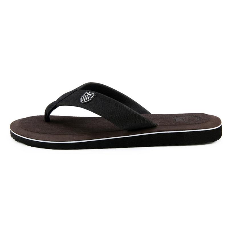 2020 New Arrival Summer Men Flip Flops High Quality Beach Sandals Anti-slip Zapatos Hombre Casual Shoes Wholesale A10 5