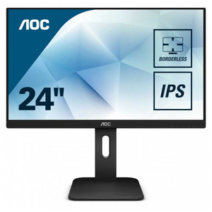 Monitory LCD AOC 24P1 PC urządzenia peryferyjne gra komputerowa monitor FHD MVA 23.8 ''1920х1080(FHD) IPS 250cd m2 H178 ° V178 ° 1000:1 50М:1 16.7M