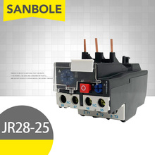 цена на JR28-25 Heat Thermal Overload Relay Adjustable Electric Protection 0.1-32A Optional Replace LRD LR2D13