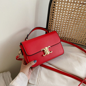2020 New Single Shoulder Messenger Small Square Bag Europe and the United States Leisure Fashion Foreign Style Portable Bag