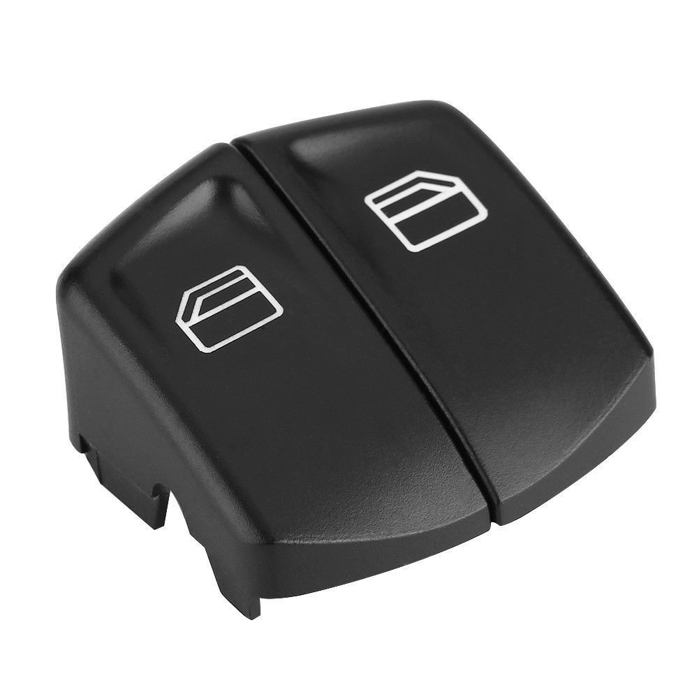 Pair Window Control Easy Install Practical Auto Car Accessories Power Switch Push Button Cover Replacement Plastic For Mercedes