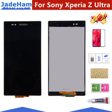 6.44 Original LCD For SONY Xperia Z Ultra Display Touch Screen Digitizer XL39H Parts