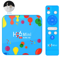 Media Player Smart HDMI Mini 4GB 32GB/128GB Quad Core DDR3 HD 6K Output TV Box Multi language Wireless 2.4GHz For Android 9.0