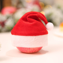 christmas hat gorro navidad новогодняя шапка kerstmuts renos mini santa hats bulma czapka mikołaja Apple Hat бутылки