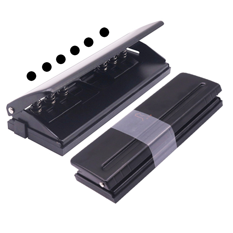 1 Pcs 6 Manual Puncher Standard Hole Puncher Order Financial Affairs Office School Supplies Busines Binding Equipment Good Tools