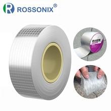 Bande de caoutchouc butyle, feuille d'aluminium, bâton anti-fuite, réparation étanche Super Nano bande auto-adhésive pour réparation de tuyaux de toit bande flexible