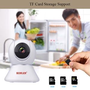 Image 4 - KONLEN Tuya 1080P WIFI Indoor IP Kamera PTZ HD Für Wireless Home Security Smart Leben APP Google Assistent Amazon alexa Unterstützung