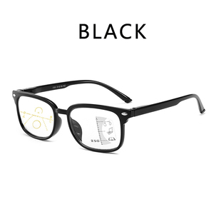 Image 5 - 高品質ユニセックス累進多焦点レンズ老眼鏡男性女性老眼遠視二焦点眼鏡 A010