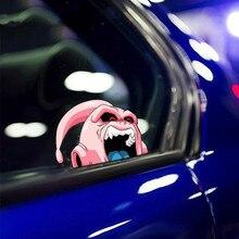 Autocollant en vinyle de style de voiture, autocollant de carrosserie de Motocross, de réservoir d'huile, de casque, de fenêtre de voiture, dessin animé pour Majin Buu