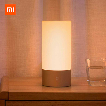 Original Xiaomi Mijia Bedside Lamp Table Desk Light 16 Million RGB Bluetooth Wifi LED Smart Control Touch For Smart Mi Home APP