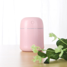 80ML USB Mini Air Humidifier Ultrasonic Essential Oil Aroma Diffuser Youpin Mute LED Light Mist Maker for Home