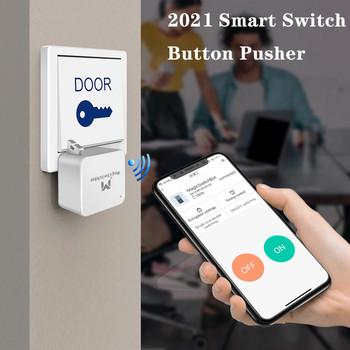 Przełącznik inteligentny przełącznik inteligentny przełącznik Bot inteligentny dom bezprzewodowy przełącznik telefon Bluetooth kontrola aplikacji przełącznik do lampy TV przełącznik do drzwi tanie i dobre opinie CN (pochodzenie)