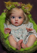 NPk 12inch new reborn fairy doll kit unfinished unpainted blank vinyl parts DIY toy reborn FLO fairy kit(China)