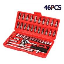 Hand Werkzeug Sets Auto Reparatur Steckschlüssel Schlüssel Ratsche Wrenchs Schraubendreher Schlüssel Set Werkzeuge Garage Werkzeuge für Home Drehmomentschlüssel