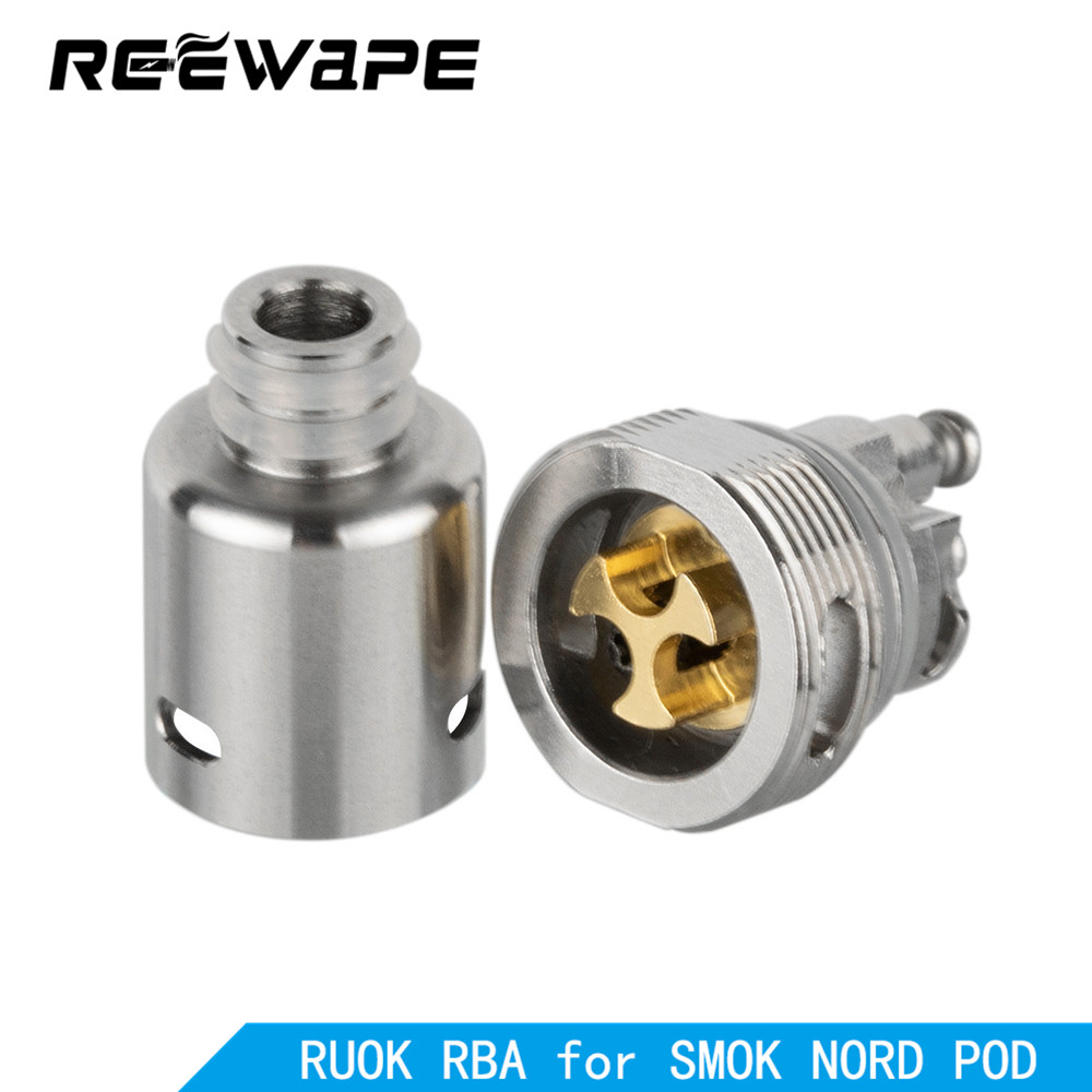 Reewape Ruok RBA Coil Head For Fetch Mini /Nikola Antares/Hotcig Marvel/Oukitel Mate/Oukitel Bison/Dovpo Peaks Vape Accessories