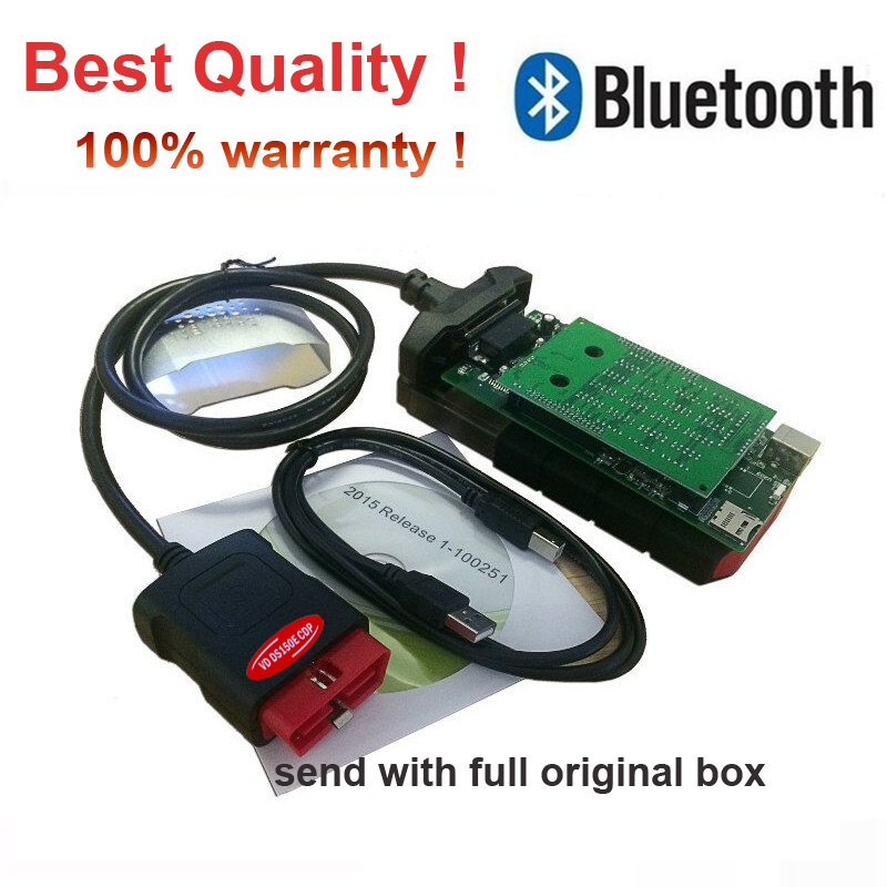 VD DS150E  2019 New Vci Obd2 Obdii Diagnostic Tool With Bluetooth Scanner Tool Car Truck VD  Pro Plus For Delphis