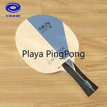 Yinhe pro-01 alc (zhu yi especial) como visceria tipo lâmina de tênis de mesa original yinhe pro 01 galaxy raquete ping pong bat paddle