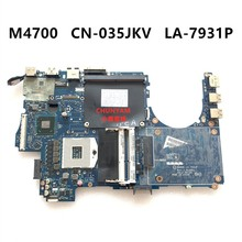 CN-035JKV FÜR DELL M4700 Laptop Motherboard QAR00 LA-7931P Mainboard 35JKV NOTEBOOK PC 100% getestet