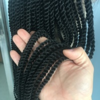 Twist Braids Synthetic Wig Lace Front box braided wigs for beautiful women in stock