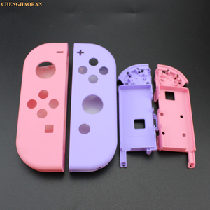 Image 3 - 1Set Candy Color Combine for Nintend Switch Joy Con Replacement Housing Shell Cover Joy Con Controller hard Case Pink Blue