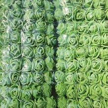 144 шт./компл. Искусственный Пена Роза кружевная одежда с цветочным узором; Свадебные вечерние букет стол для рукоделия венок, гирлянда, дома, свадьбы