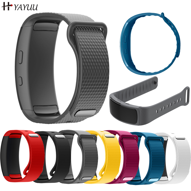 YAYUU Silicone Watch Band For Samsung Gear Fit 2 Pro fitness Replacement Wrist Strap For Samsung Gear Fit2 SM R360 Bracelet