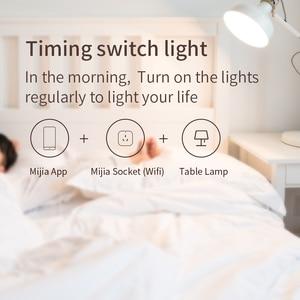 Image 3 - Xiaomi Mi умная розетка Mijia умная домашняя вилка wifi или Bluetooth версия приложения дистанционное управление Обнаружение мощности работа с приложением Mi home