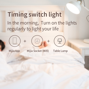 Image 3 - Xiaomi Mi Smart Socket Mijia Smart home plug wifi or Bluetooth Version APP Remote Control Power Detection Work with Mi home APP