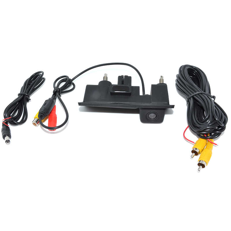 Ccd capa de câmera para retrovisor de carro, à prova d' água, para audi/vw/passat/tiguan/golf/touran/jetta/sharan/touareg