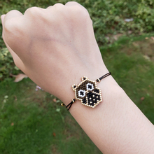 FAIRYWOO Owl Bracelets Animals Pendant Jewelry Miyuki Bead Woven Gothic Woman Delica Charm Japan