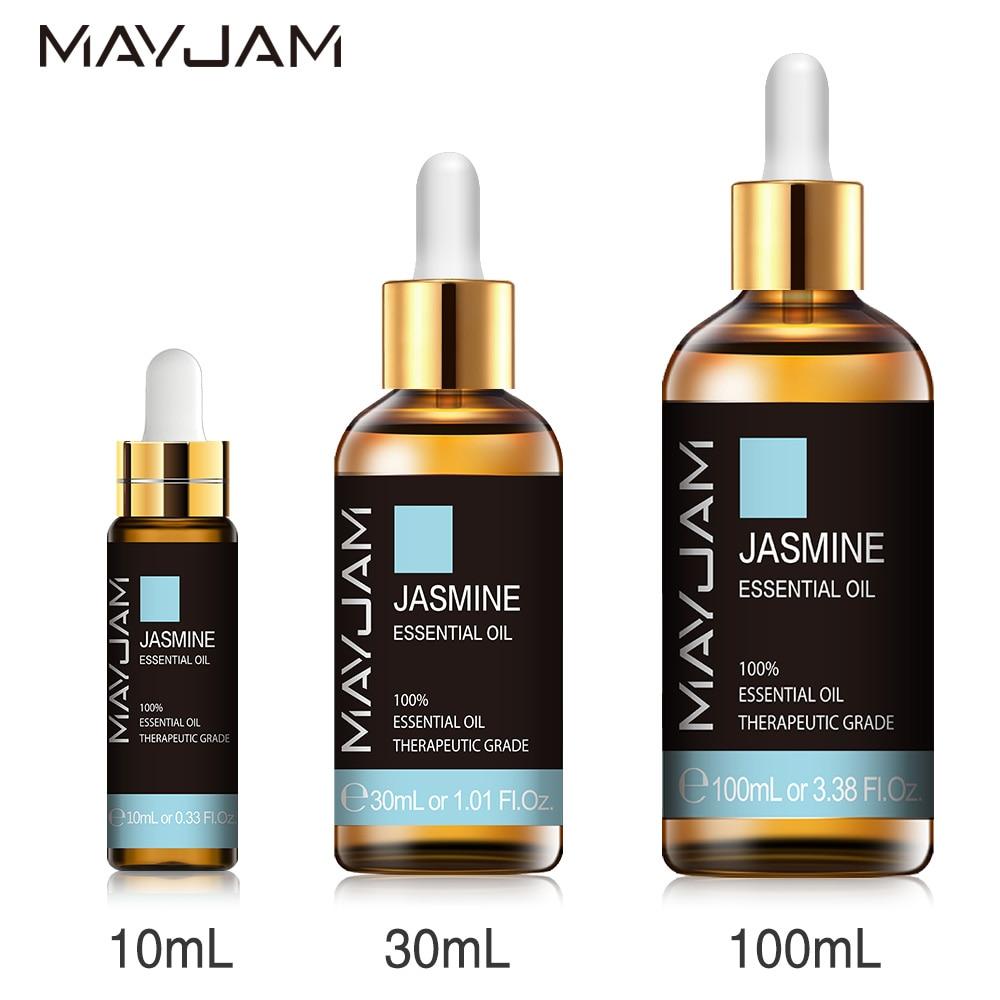 Jasmine Lavender Eucalyptus Mint Vanilla Pure Natural Essential Oils 1