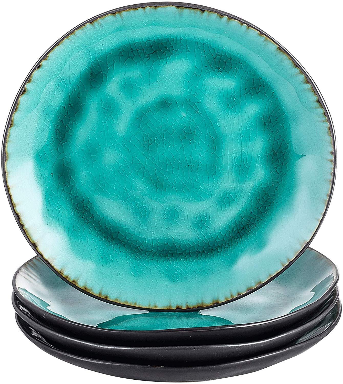 Vancasso Aqua 4/8/12 pièces poterie grès Vintage céramique vert vaisselle 8.5