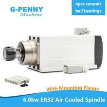 Новое поступление! 6 0 кВт шпиндель с воздушным охлаждением