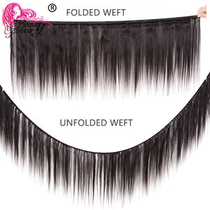 Image 3 - Beauty Forever Brazilian Hair Straight Weaving 3 Bundles Remy Human Hair Weave Bundles Natural Color Free Shipping