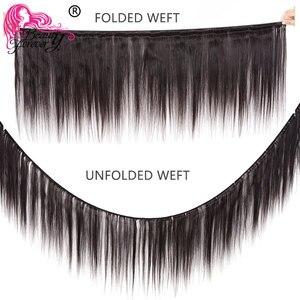 Image 3 - Schönheit Für Immer Brasilianische Haar Gerade Weben 3 Bundles Remy Menschenhaar webart Bundles Natürliche Farbe Freies Verschiffen