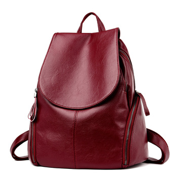Backpack Women's Trend Medium Sized Youth Travel Leisure Schoolbag - discount item  20% OFF Backpacks