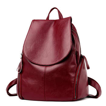 Backpack Women\'s Trend Medium Sized Youth Travel Backpack Leisure Schoolbag - DISCOUNT ITEM  20 OFF Luggage & Bags