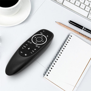 Image 5 - Kebidu G10s לטוס אוויר עכבר G10 אלחוטי 2.4GHz עבור אנדרואיד טלוויזיה קופסא עם קול בקרת מיני מרחוק בקרת עבור ג יירו חישה משחק