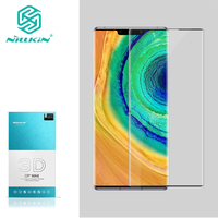 For Huawei Mate 30 Pro Glass NILLKIN Amazing 3D CP+ MAX Anti Explosion Tempered Glass For Huawei Mate 30 5G Screen Protector|Phone Screen Protectors| |  -