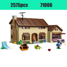 2575 Buah Legoinglys THE SIMPSONS Series 71006 Model Bangunan Mainan Simpsons House 16005 Blok Bangunan Mainan & Hobi(China)