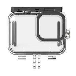 Image 3 - Mergulho 50m à prova dwaterproof água caso habitação para gopro hero 9 acessórios da câmera de ação capa protetora escudo para gopro hero9 acessórios