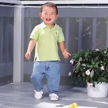 Детская Балконная защитная сетка ограждение для помещений безопасность на открытом воздухе для детей сетка балконное ограждение для безопасности ребенка лестницы