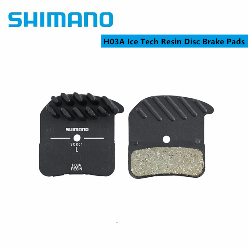 Shimano Saint-Zee H03C Ice-Tech with Radiator Fin Metal Disc Brake Pads