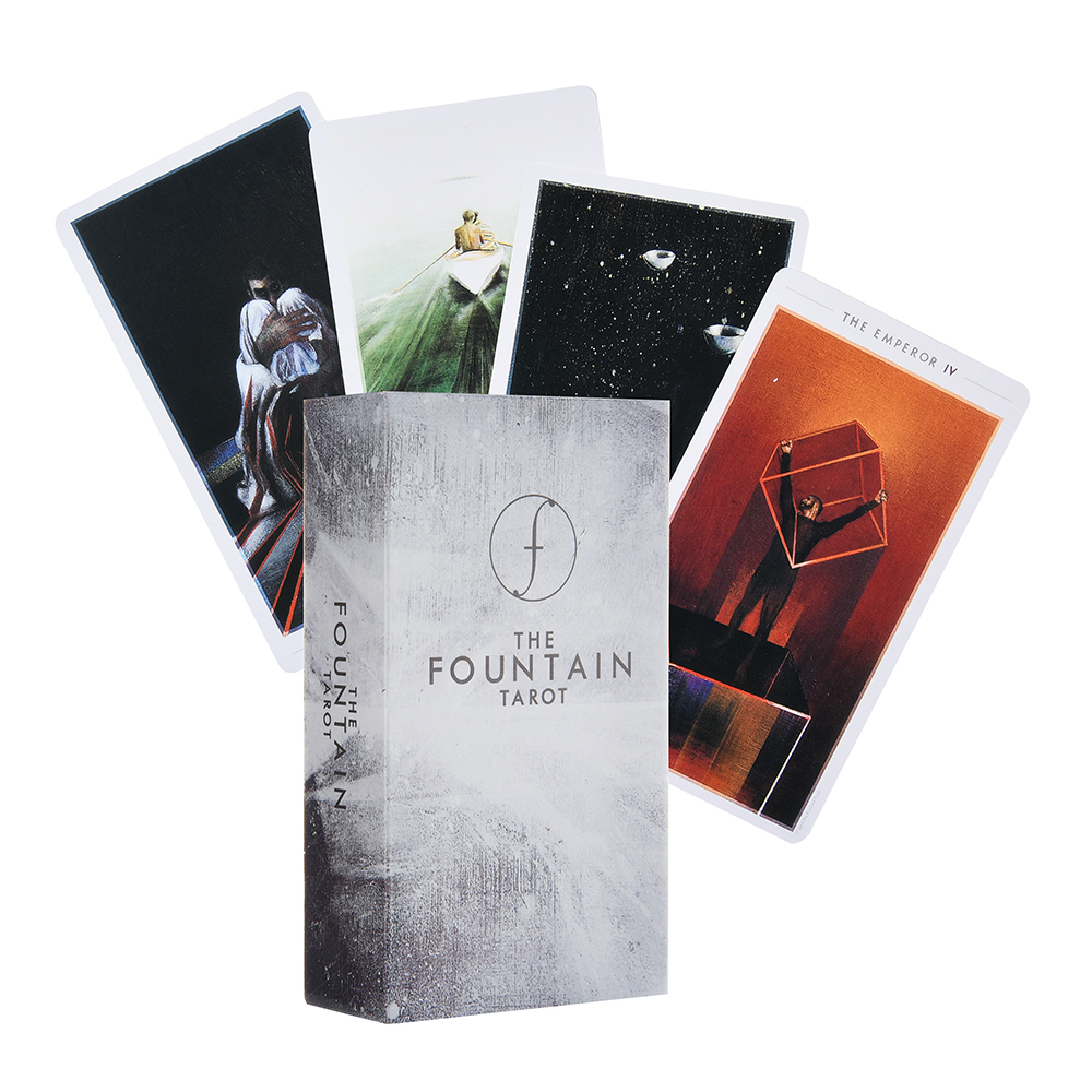 The Fountain Tarot Illustrated Deck Oracle Electronic Guide Book